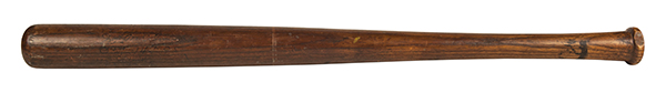 Christy Mathewson 1905 World Series Game-Used Bat