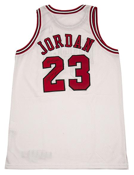Michael Jordan 1997-97 Game-Used Jersey