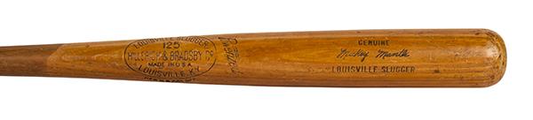 Mickey Mantle 1956 Game-Used Bat