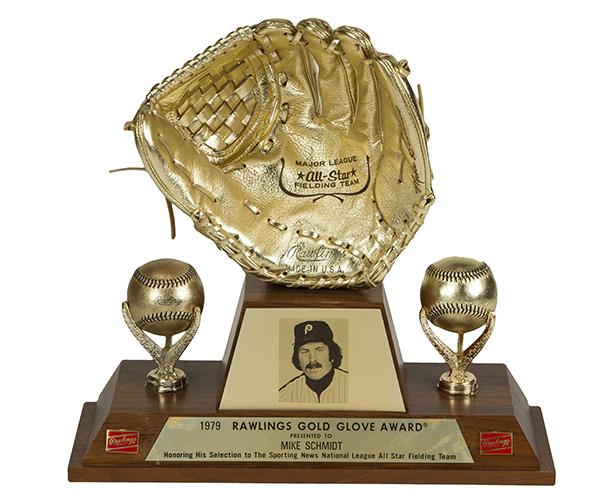 Mike Schmidt 1979 Gold Glove Award