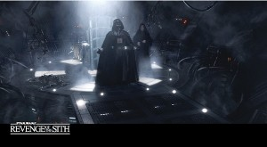 Star Wars Widevision 3D Revenge of the Sith Base Vader