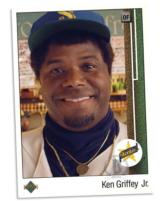 Totally Fake Rookie Cards 1989 Upper Deck Ken Griffey Jr Old Kid