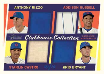 16_Topps Heritage Baseball-cubsquad