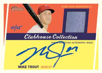 16_Topps Heritage Baseball-trout