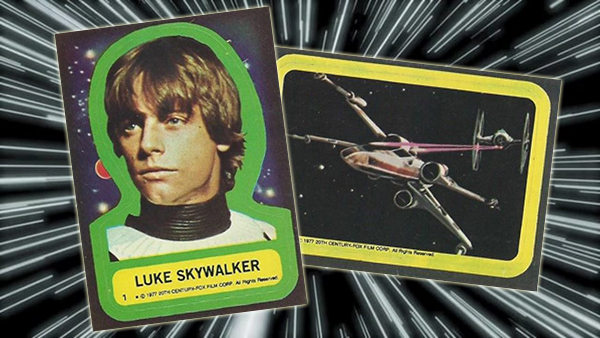 1977 Topps Star Wars Stickers Header