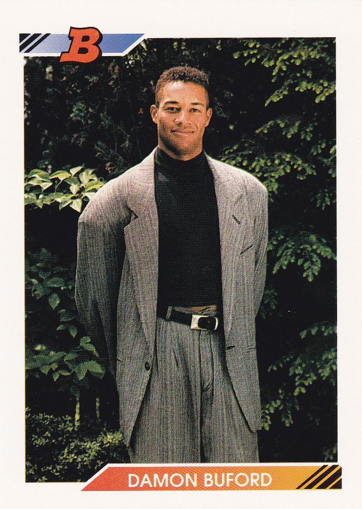 1992 Bowman 224 Damon Buford