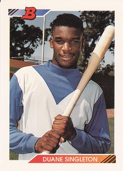 1992 Bowman 679 Duane Singleton
