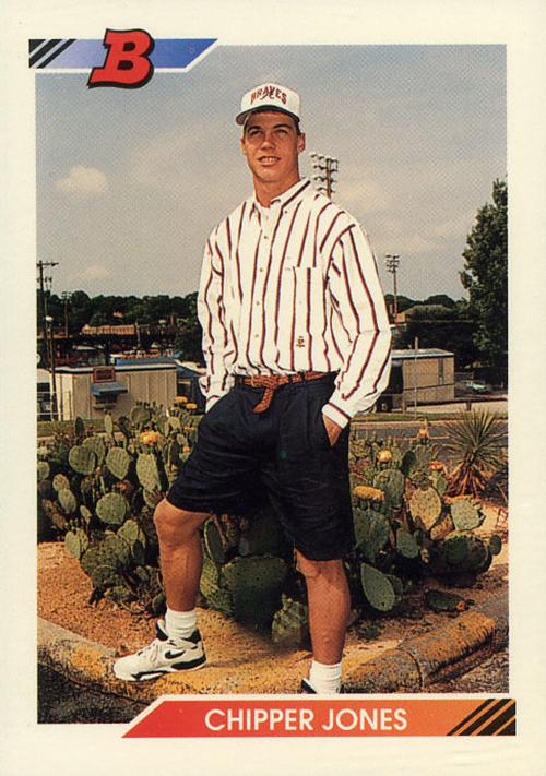 1992 Bowman Chipper Jones