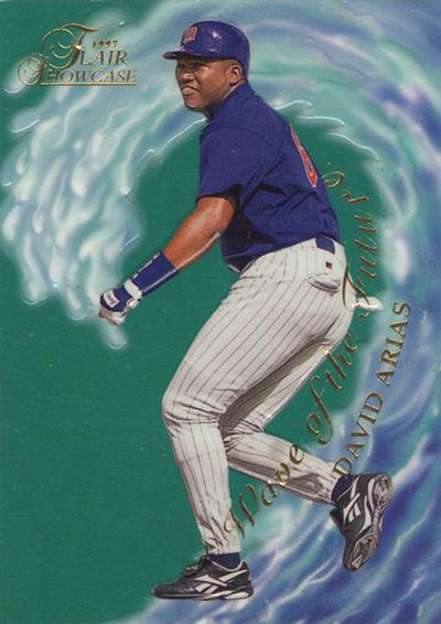 1997 Flair Showcase Wave of the Future David Ortiz