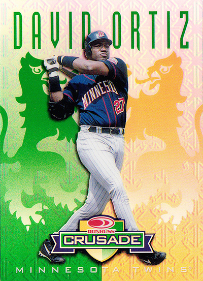 1998 Leaf Rookies and Stars Crusade Green David Ortiz