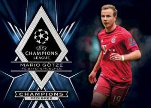 2015-16 Topps UEFA Champions League Showcase Soccer Champions Pedigree