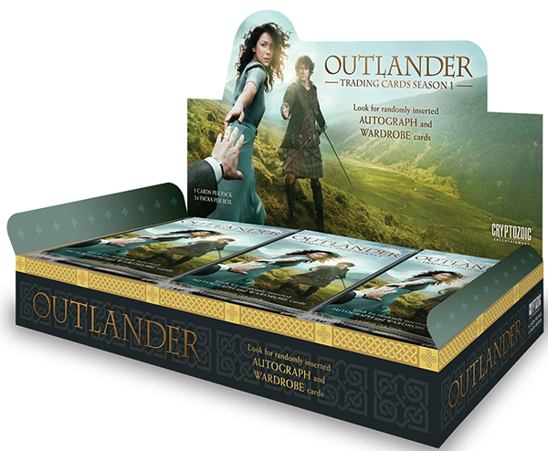 2016 Cryptozoic Outlander Season 1 Hobby Box