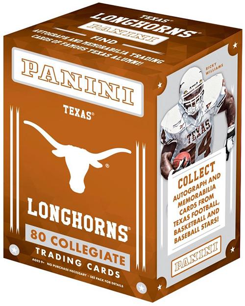 2015 Panini University of Texas Blaster