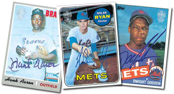 2015 Topps Archives Signature Series Baseball