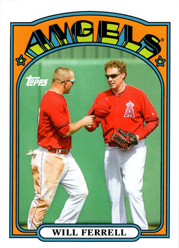 2015 Topps Archives Will Ferrell Variation Angels