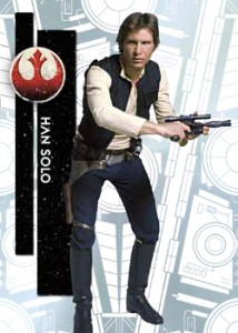 2015 Topps Star Wars High Tek Base Han Solo