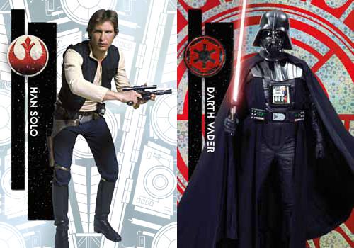 2015 Topps Star Wars High Tek HEader