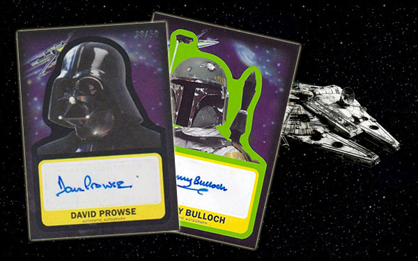 Star Wars Journey to the Force Awakens Autographs Header