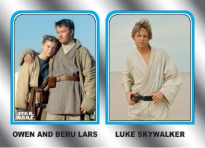 2015 Topps Star Wars Journey to the Force Awakens Family Legacy