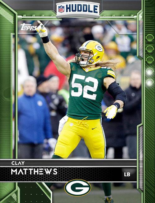 2016-Topps-Huddle-Green-Clay-Matthews