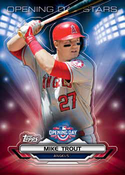 2016 Topps Opening Day Baseball Opening Day Stars