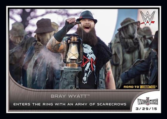 2016 Topps WWE Road to Wrestlemania Base Bray Wyatt