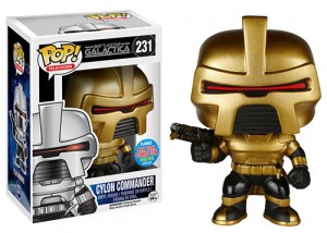 Battlestar Classic Commander Cylon