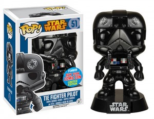 Chrome Tie Fighter Pilot