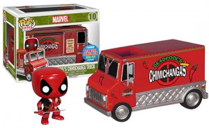 Deadpool's Red Chimi Truck