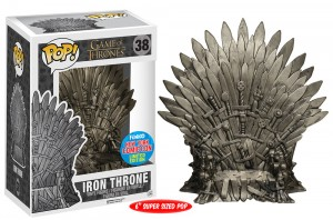 2015 New York Comic Con Exclusives Game of Thrones Pop Iron Throne
