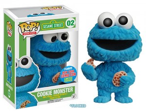 Flocked Cookie Monster
