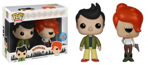 Futurama Alternate Universe Fry and leela 2-Pack