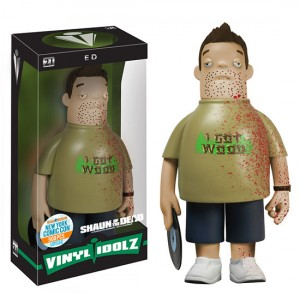 Shaun of the Dead Bloody Ed Vinyl Idolz