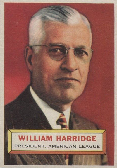 1956 William Harridge