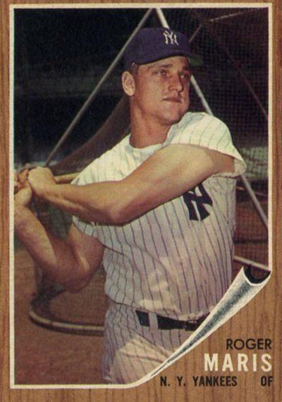 1962 Topps Roger Maris