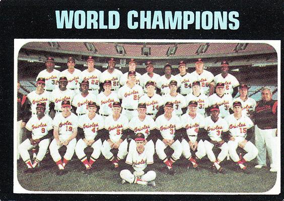 1971 World Champions