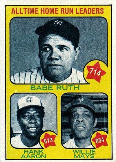 1973 All-Time Home Run Leaders