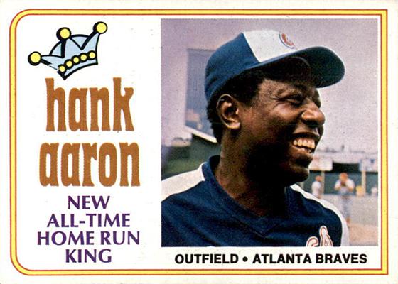 1974 Topps Hank Aaron 1