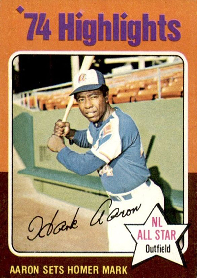 1975 Hank Aaron