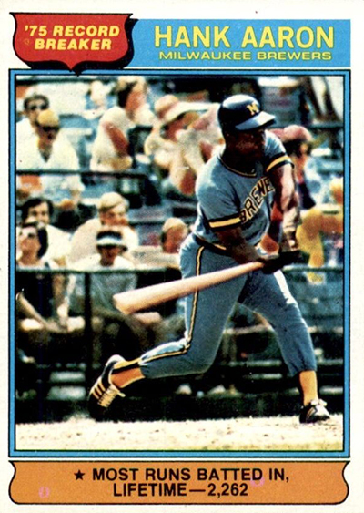 1976 Hank Aaron