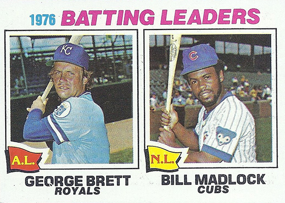 1977 Batting Leaders