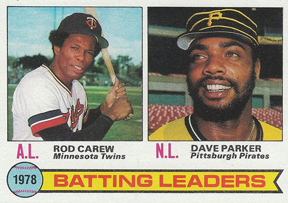 1979 Batting Leaders