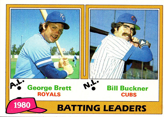 1981 Batting Leaders