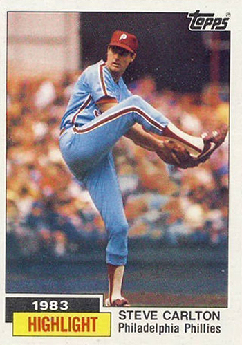 1984 Steve Carlton HL