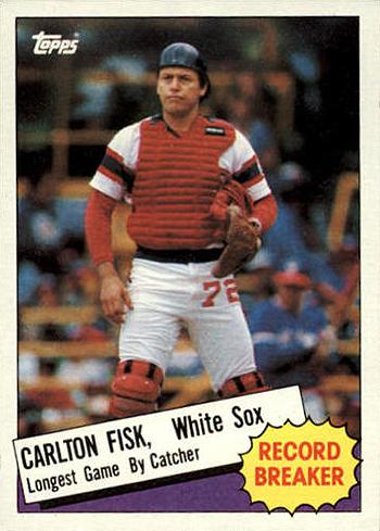 1985 Carlton Fisk RB