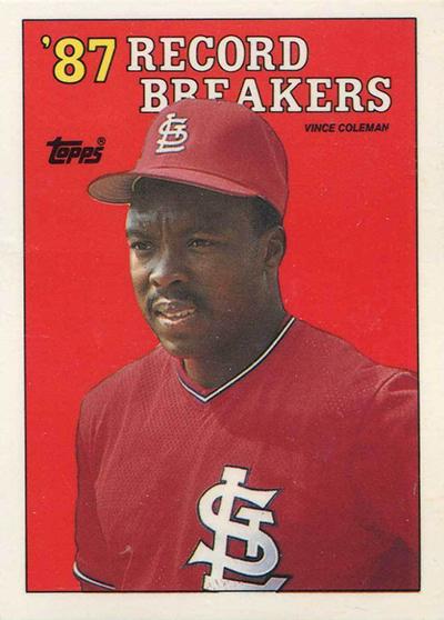 1988 Vince Coleman RB