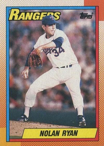 1990 Topps 1 Nolan Ryan