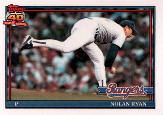 1991 Nolan Ryan