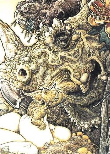 1993 Comic Images William Stout Lost Worlds Base