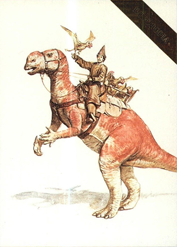 1995 Dinotopia Base 16